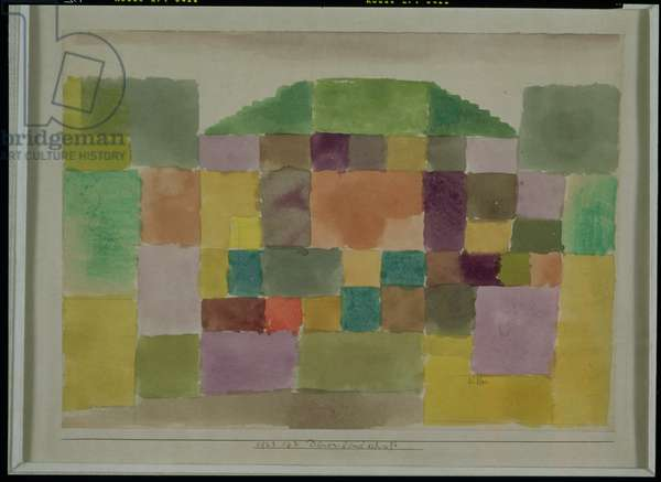 Dune Landscape, 1923 (no 162) (w/c and pencil on paper on cardboard)