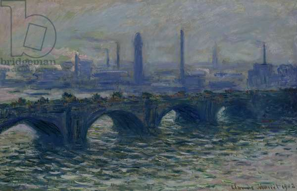 Waterloo Bridge, 1902 (oil on canvas)