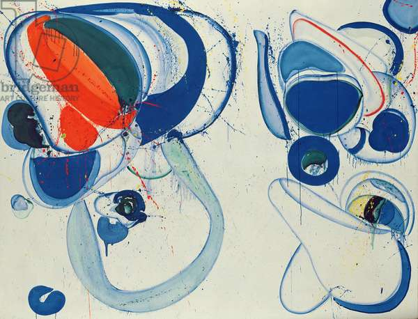 As for the Open, 1962/63 (oil on canvas)