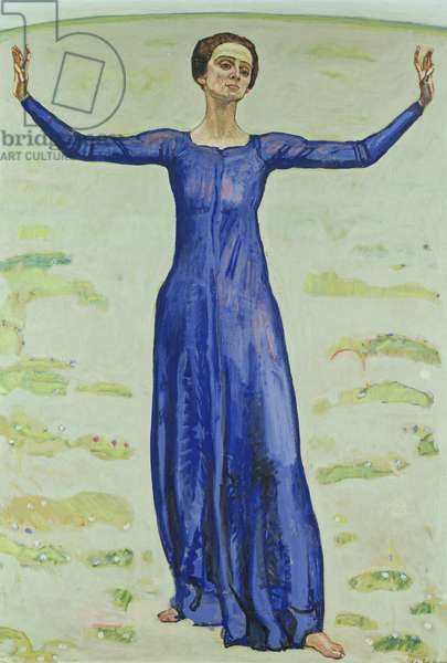 Song in the Distance, 1914 (oil on canvas)