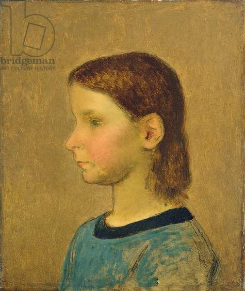 Louise Millet, c.1863 (oil on canvas)