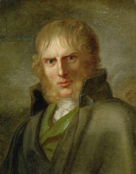 The Painter Caspar David Friedrich (1774-1840) (oil on canvas)