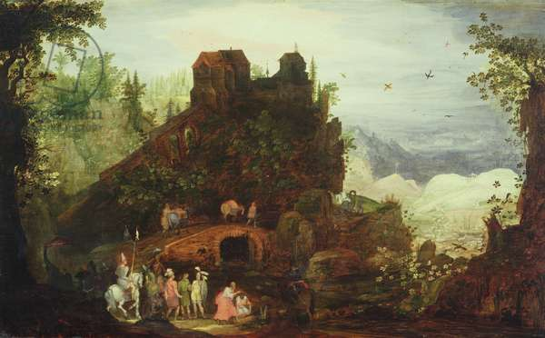 Baptism of Treasurers (oil on canvas)