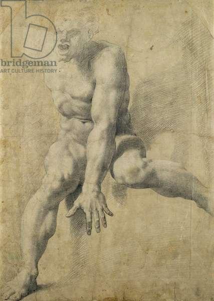 Polyphemus (black chalk on paper)