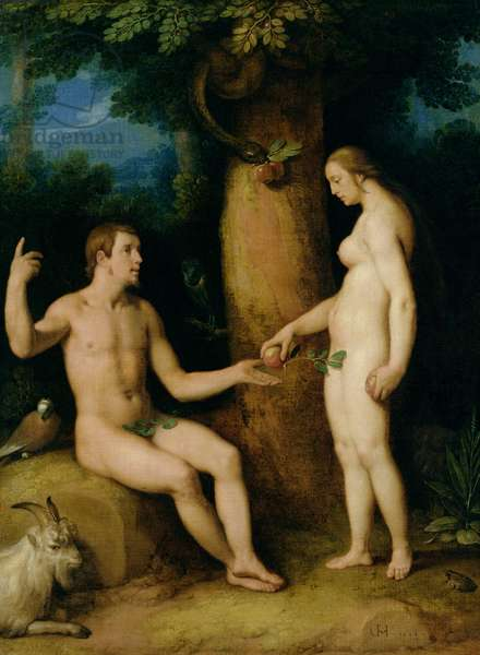 Adam and Eve, 1622 (oil on canvas)