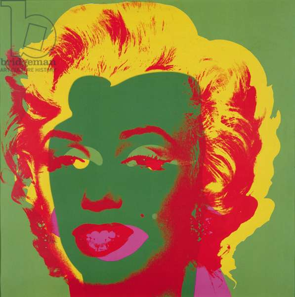 Marilyn, 1967 (screen print on paper) (see also 182836-182839, 182841-182845)