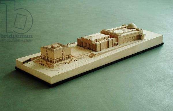 Model of the Hamburg Kunsthalle (photo)