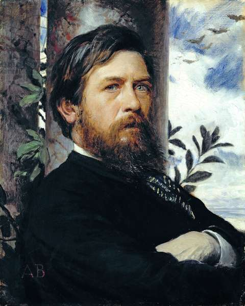 Self Portrait, 1873 (oil on canvas)