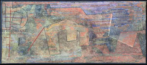Muted Hardnesses 1931 (no 282) (w/c on primed gauze on cardboard)