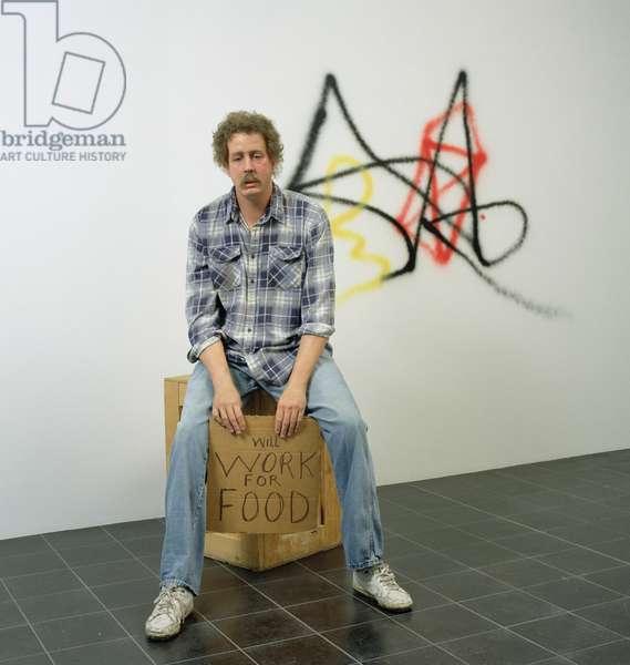 Homeless Person, 1991 (mixed media)