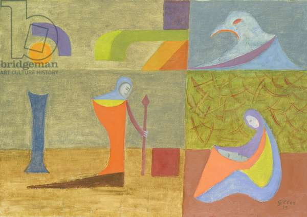 The Wake, 1958 (oil on canvas)
