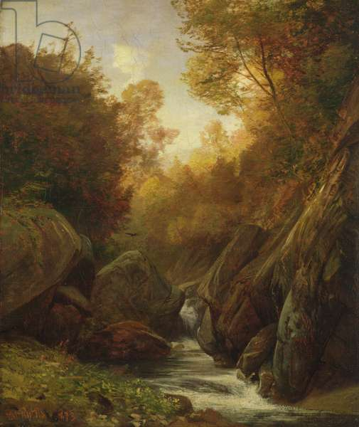 Woodland Spring, 1873 (oil on canvas)