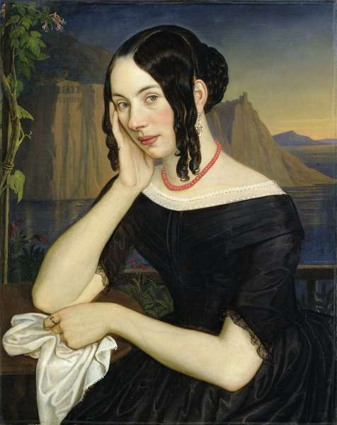 Katharina Kern of Sterzing, 1842 (oil on canvas)