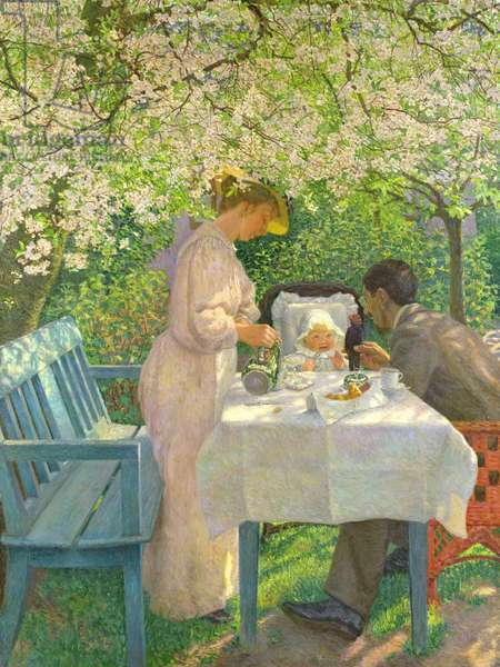 Spring, 1901 (oil on canvas)