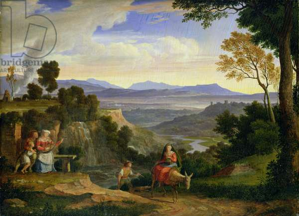 At Ronciglione, 1815 (oil on panel)