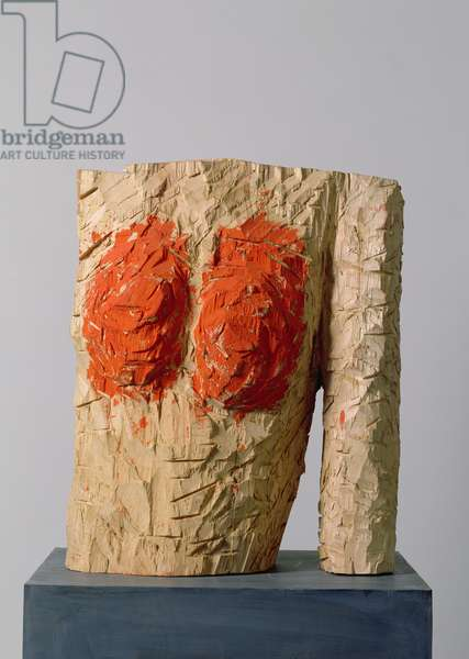 Thing with Arm, 1993 (painted wood)