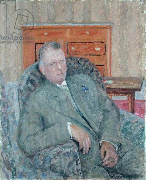 Professor Franz Ludwig Stuhlmann (1863-1928) 1913 (oil on canvas)