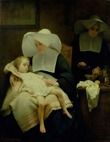 The Sisters of Mercy, 1859 (oil on canvas)