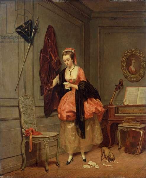 The Beloved Mistress, 1846 (oil on board)