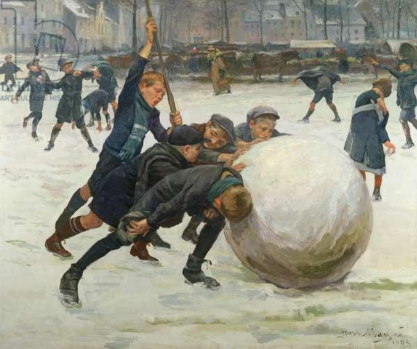 The Giantest Snowball, 1903