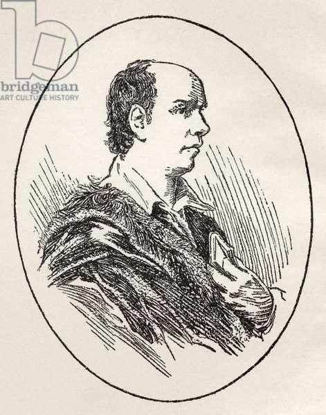 Oliver Goldsmith - portrait