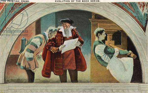 Gutenberg 's printing press