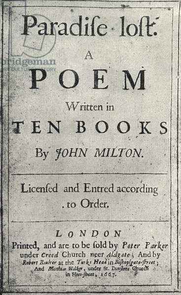 John Milton -