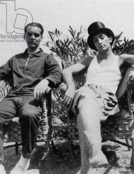 Lorca and Dali in Cadaques