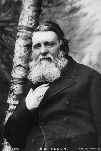 John Ruskin - portrait