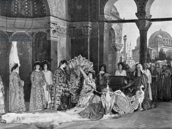 Sarah Bernhardt in title