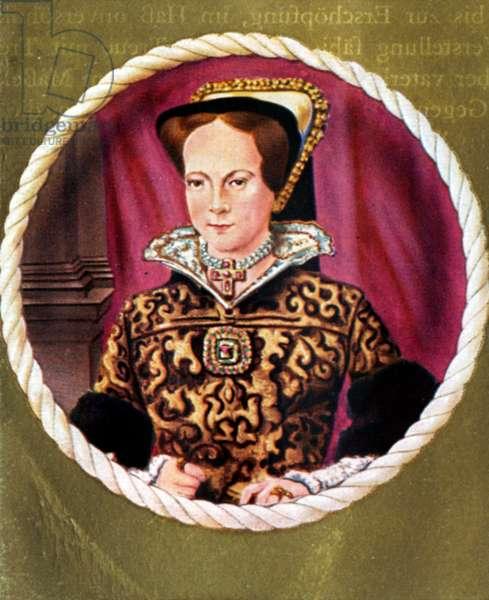 Mary I Portrait of