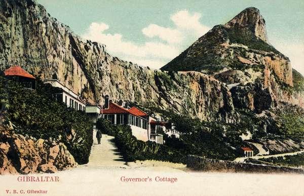 Gibraltar -Governor's Cottage near