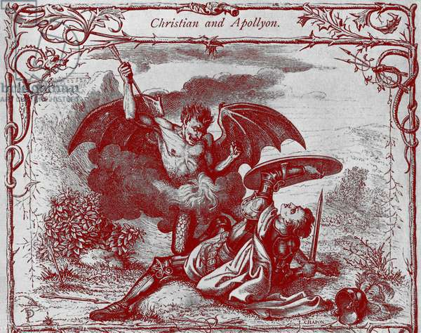 'Christian's Combat with Apollyon'