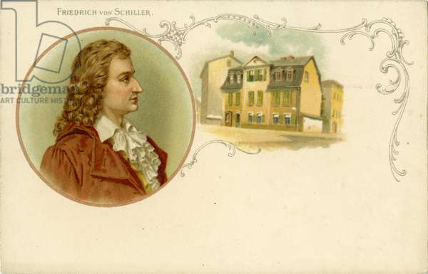 Friedrich von Schiller - portrait