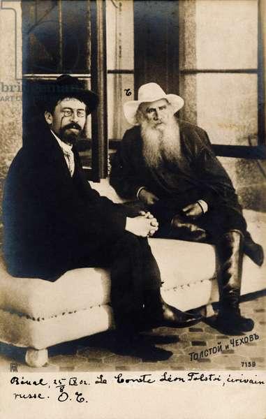 Anton Chekhov and Leo