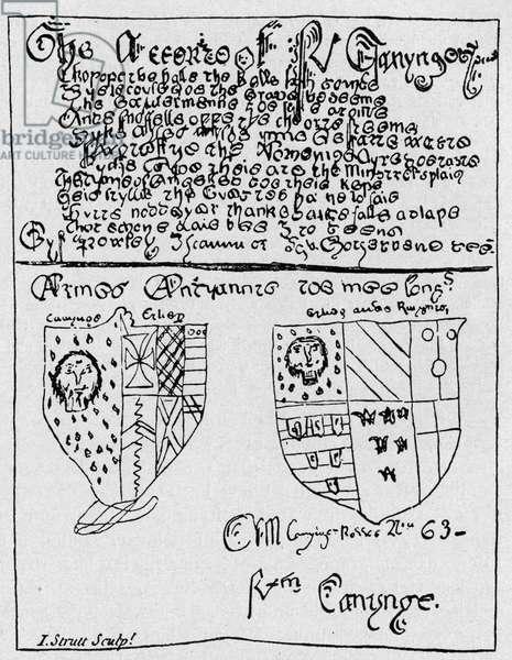 Thomas Chatterton - Example
