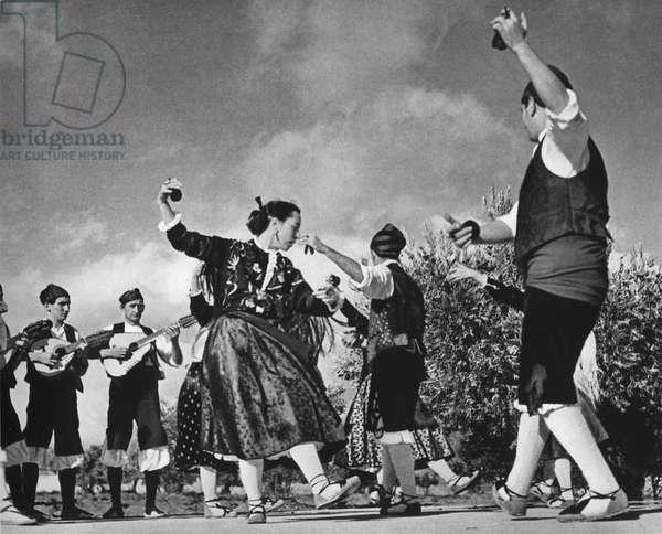 Jota dance of Aragon