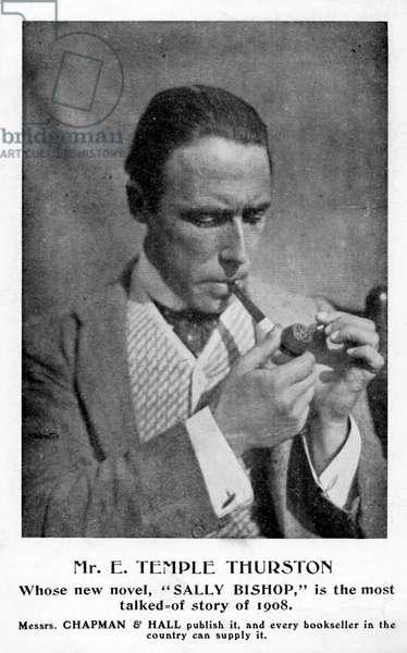 E. Temple Thurston - advert for novel
