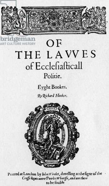'Ecclesiastical Polity'