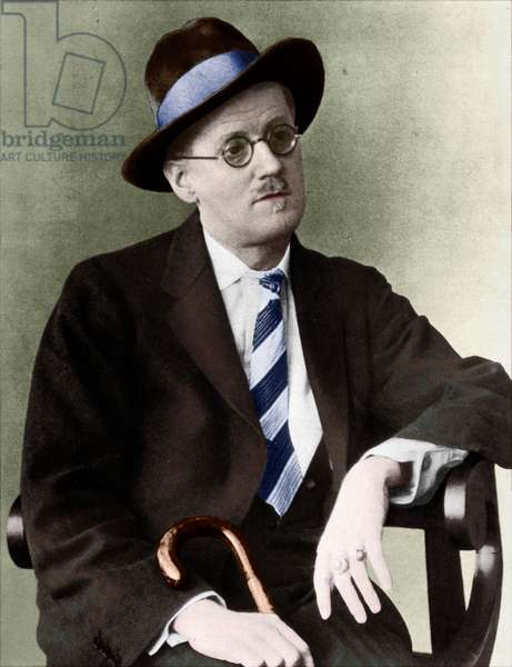 James Joyce portrait Irish