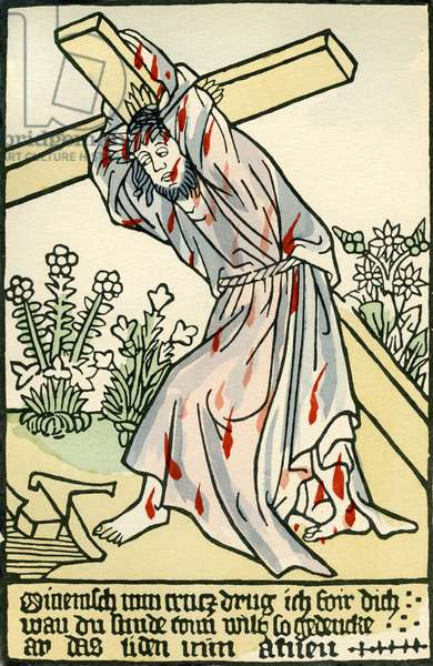 Christ carrying the cross / Kreuztragung