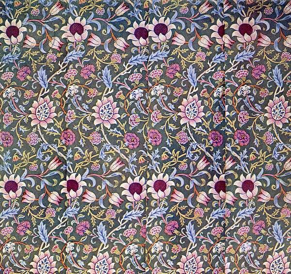 William Morris - Design for Evenlode Chintz