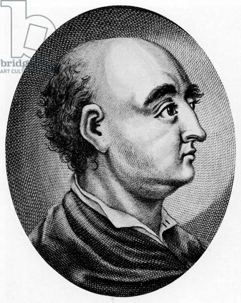 Jonathan Swift - portrait