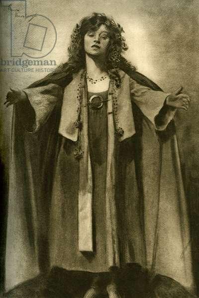 Hilda Trevelyan as Wendy