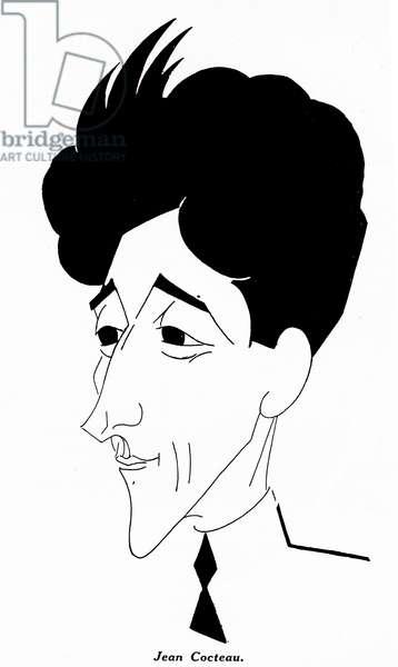 Jean Cocteau - caricature