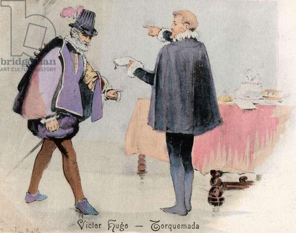 Victor Hugo - illustration