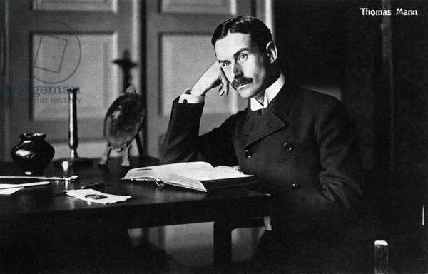 Thomas Mann as a young man German writer