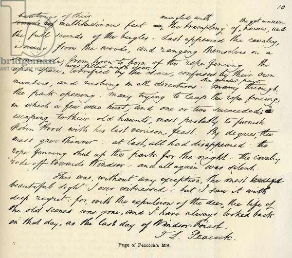Maid Marian manuscript