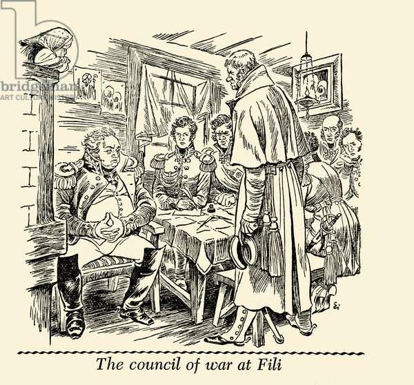 The council of war at Fili