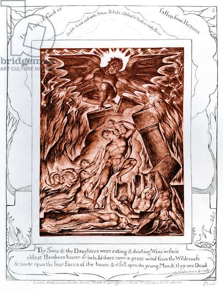 The Book of Job illustrations by William Blake